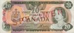 20 dollars - Série 1969-1979, Scènes du Canada