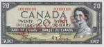 20 dollars - Série de 1954