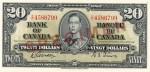 20 dollars - Série de 1937