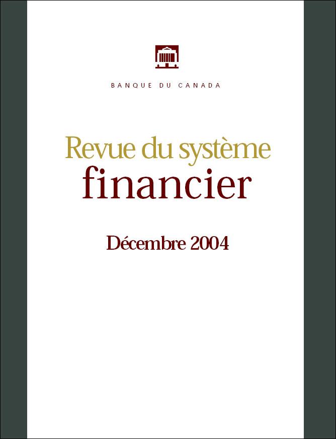 Revue du système financier - Décembre 2004