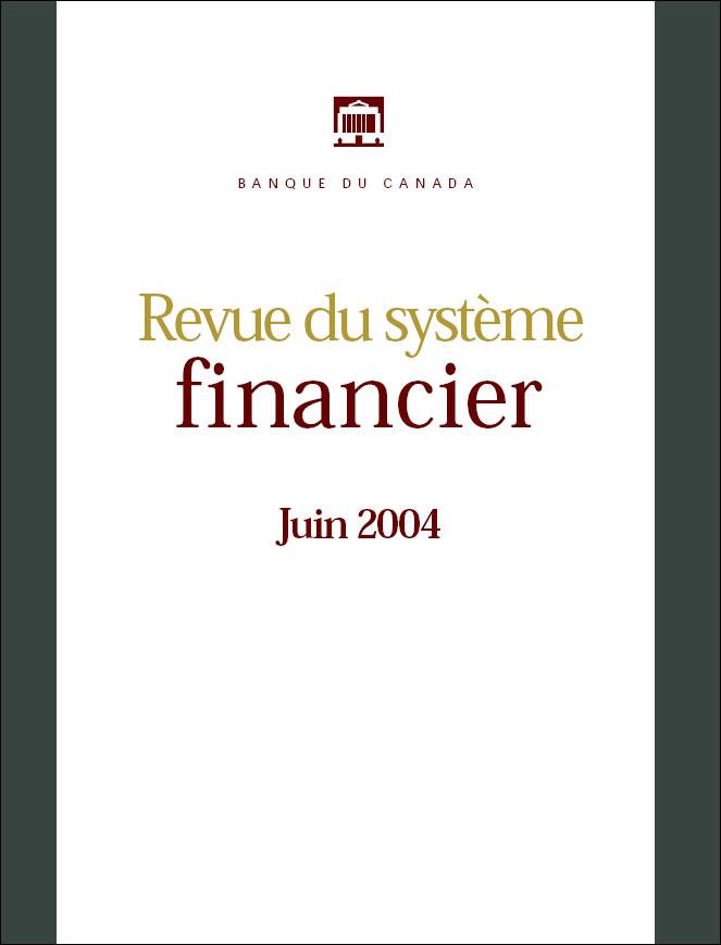 Revue du système financier - Juin 2004
