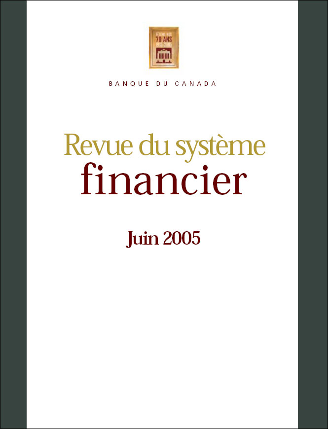 Revue du système financier - Juin 2005