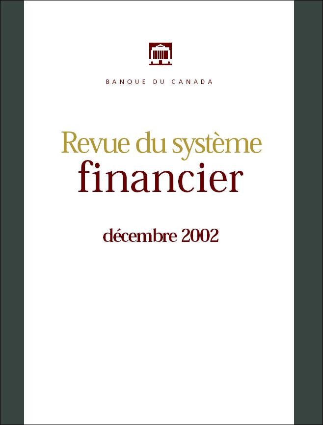 Revue du système financier - Décembre 2002