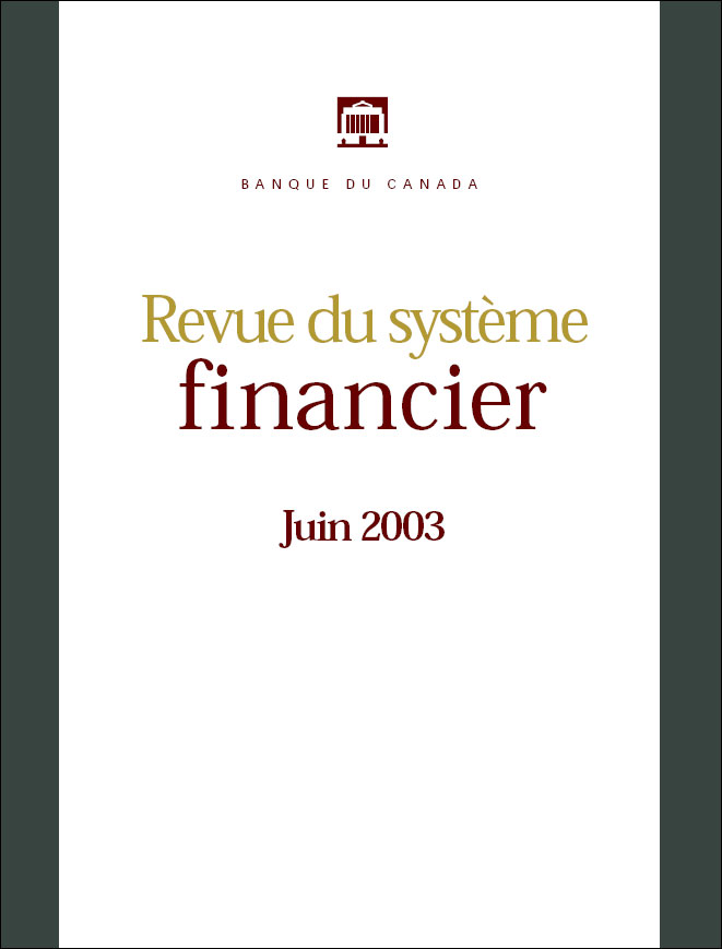 Revue du système financier - Juin 2003