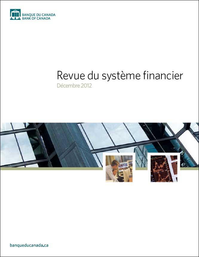 Revue du système financier - Décembre 2012