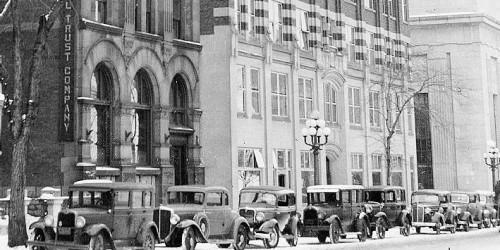 Édifice Victoria, 140, rue Wellington, premiers locaux de la Banque du Canada