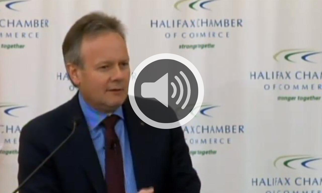 Chambre de commerce de halifax discours et conf rence de for Chambre de commerce tuniso canadienne