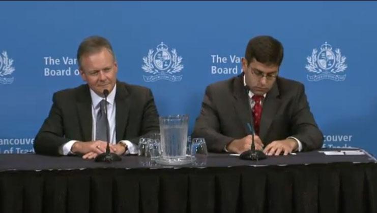 Chambre de commerce de vancouver conf rence de presse for Chambre de commerce tuniso canadienne