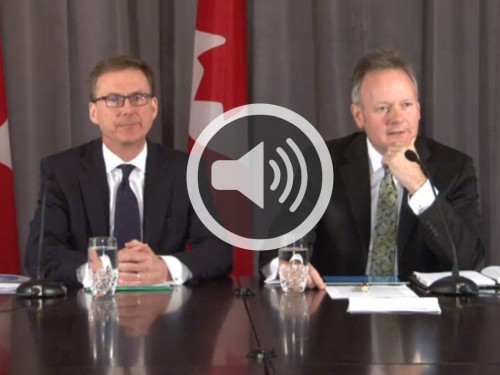 Monetary Policy Report - April 2014 - Audio