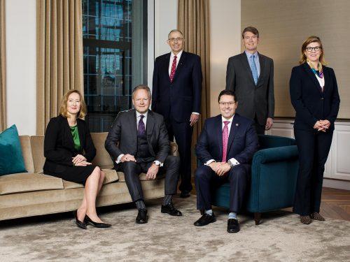 Les membres du Conseil de direction et le chef de l'exploitation