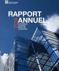 Rapport annuel 2014 - Couverture