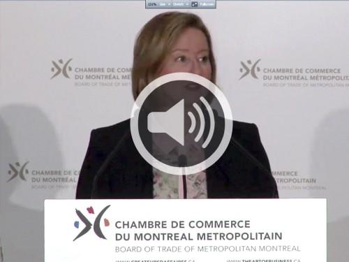 Des march s liquides pour une conomie solide banque du for Chambre de commerce du montreal metropolitain