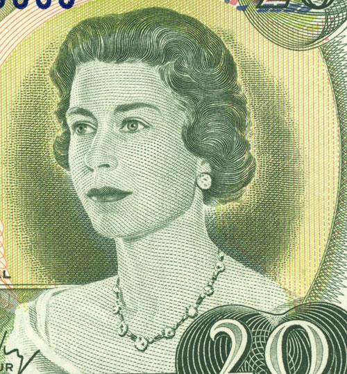 Détail de la coupure de 20 $, série Scènes du Canada, Banque du Canada, émission du 22 juin 1970