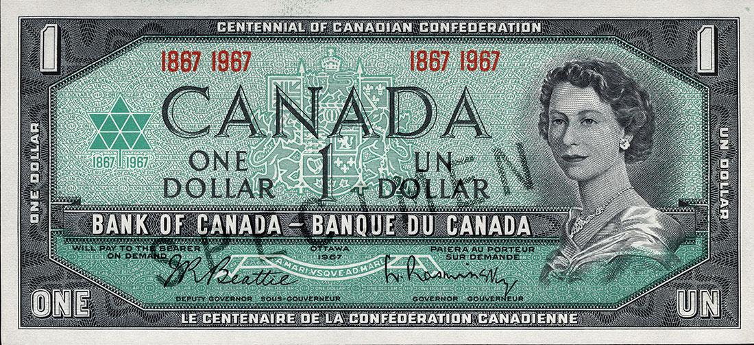 Série de 1967, centenaire de la Confédération du Canada