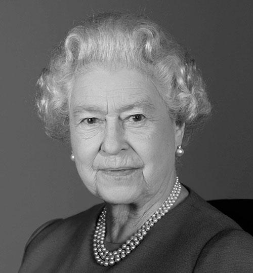 La reine Elizabeth II, photographie : Ian Jones, novembre 2009