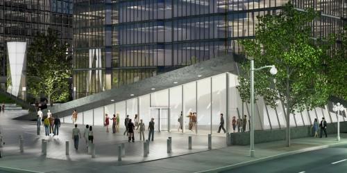 L'immeuble abritera un musée entièrement repensé ainsi qu'un nouveau centre de conférence.