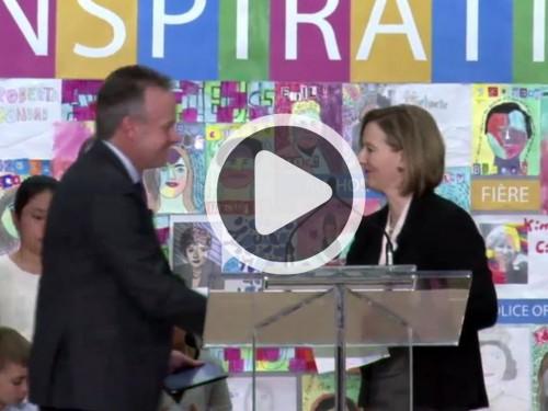 Roberta Bondar Public School – Event (Video)