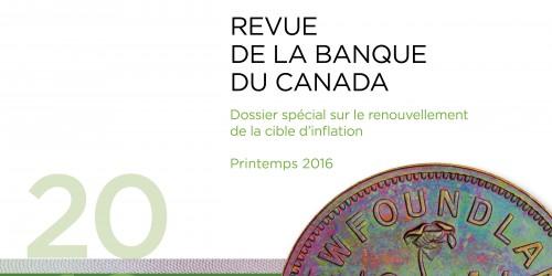 Revue de la Banque du Canada - Printemps 2016