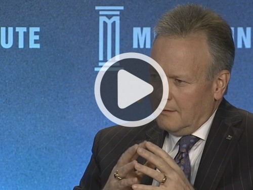 Poloz - Milken Institute's Global Conference 2016