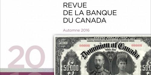 Revue de la Banque du Canada - Automne 2016