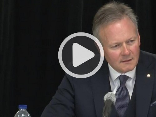 Press Conference Poloz - 28 March 2017