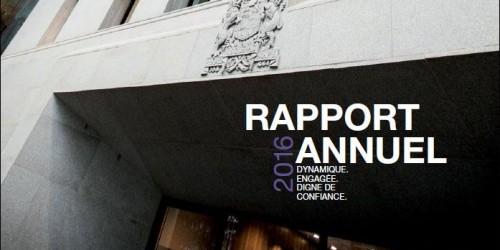 Couverture - Rapport annuel 2016