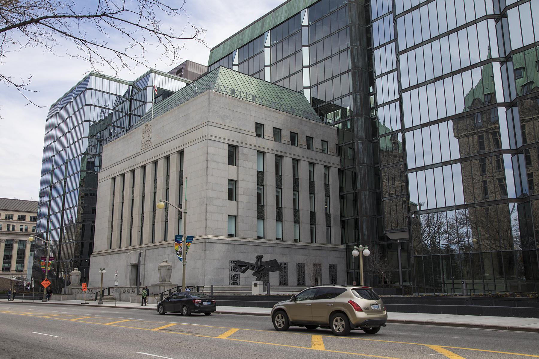 Le complexe de la Banque est réputé pour ses éléments architecturaux uniques alliant des styles classique et moderne.