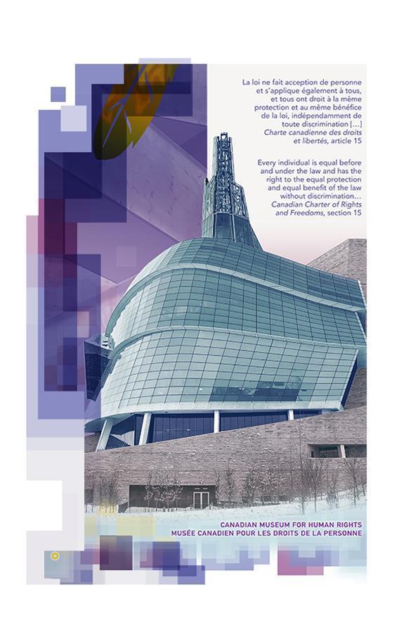 Musée canadien pour les droits de la personne sur un billet de 10 $