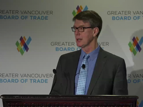 Greater Vancouver Board of Trade - Speech